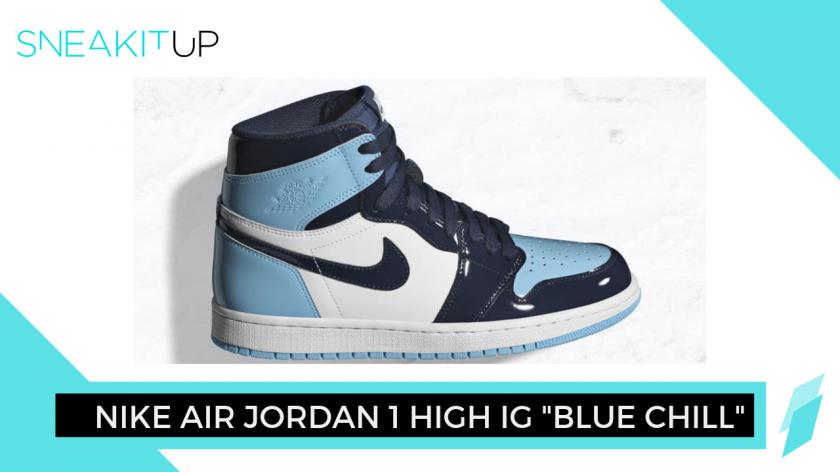 Nike Air Jordan 1 High OG Women's 'Blue Chill'
