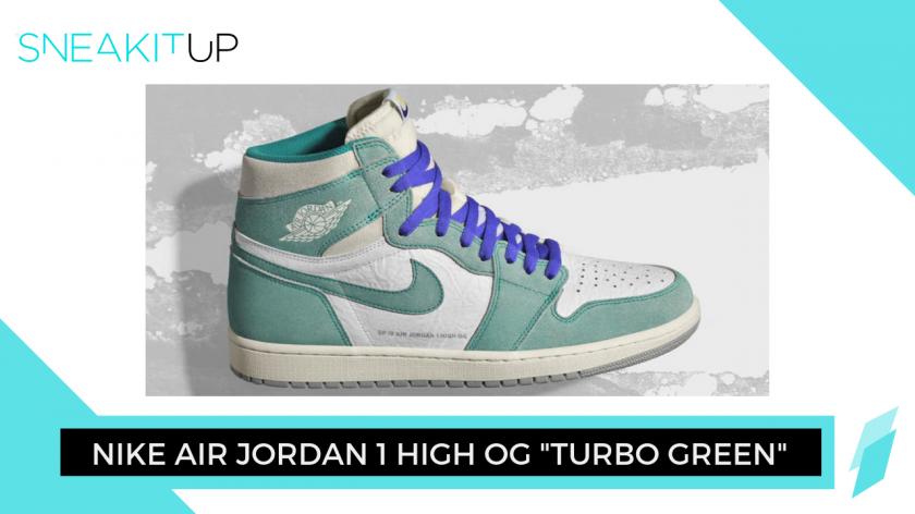 Nike Air Jordan 1 High OG 'Turbo Green'