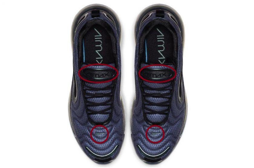 Nike Air Max 720 lengüeta