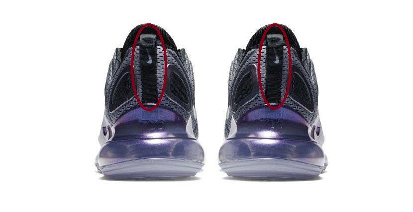 Nike Air Max 720 talón
