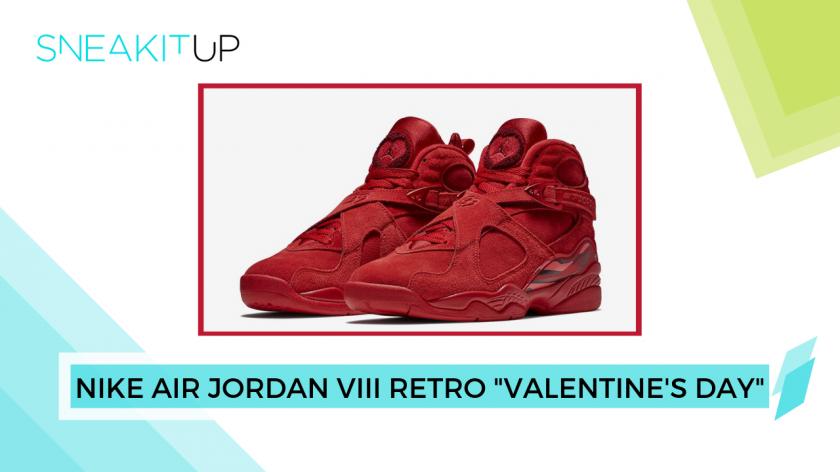 Regalo San Valentín 2019: Nike Air Jordan VIII Retro