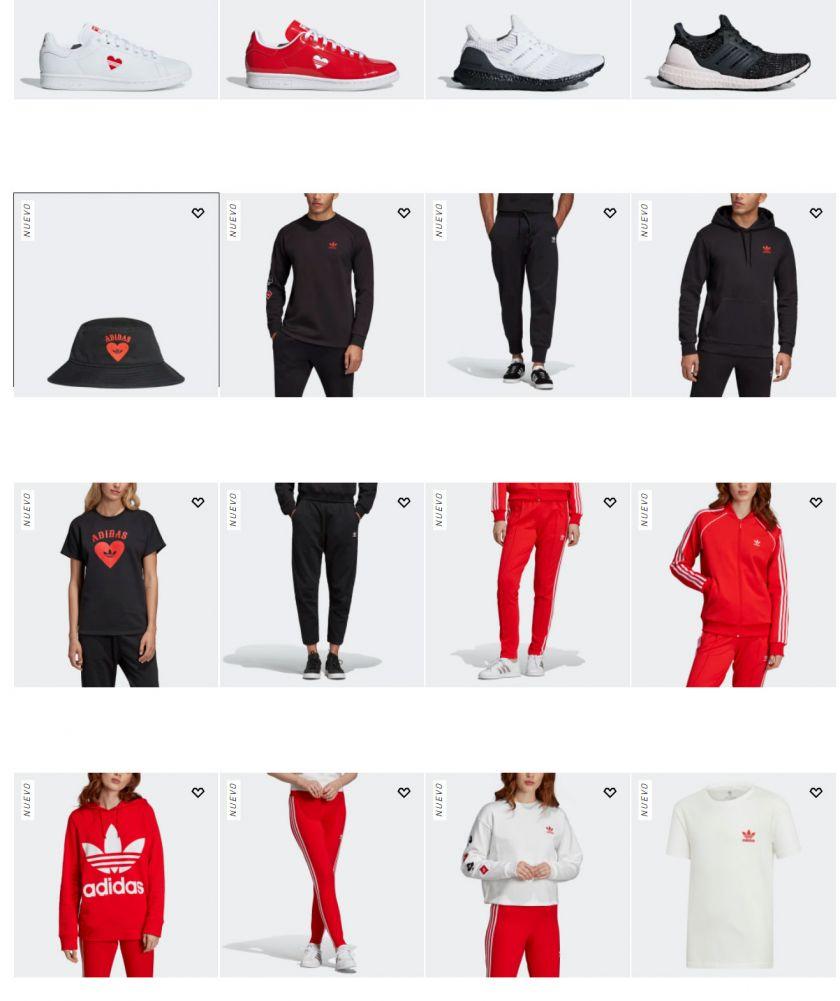 Pack Adidas X San Valentín 2019