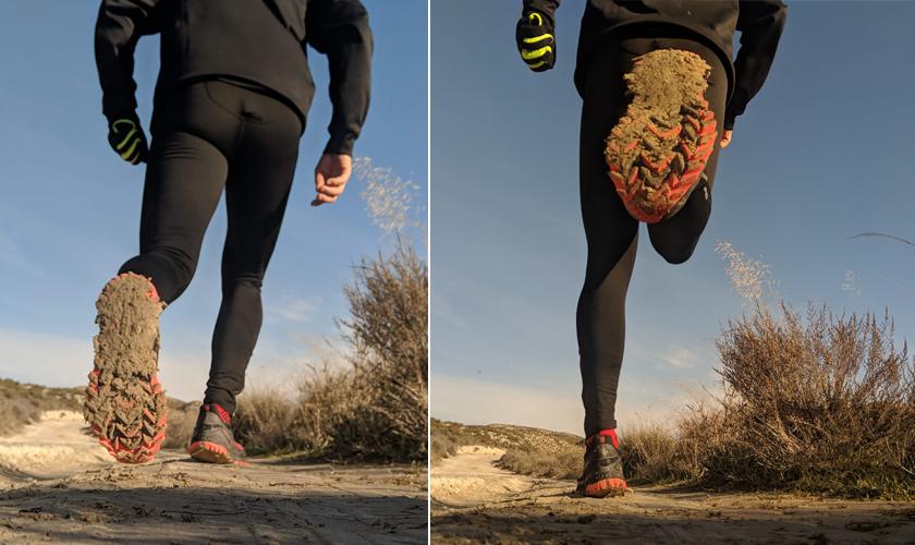 Review de las zapatillas de trail running Saucony Xodus ISO 3, características de la suela - foto 6