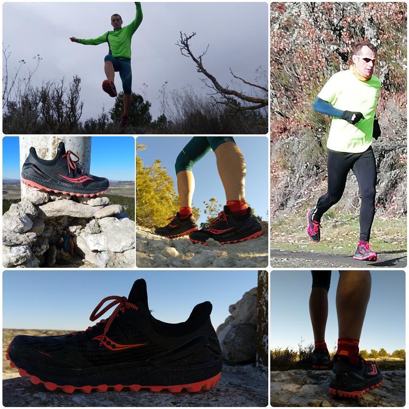 Review de las zapatillas de trail running Saucony Xodus ISO 3, tacos de la suela - foto 7