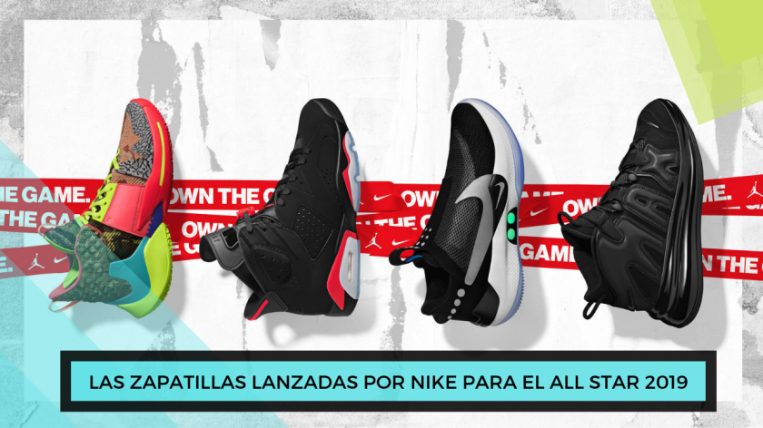 Regalo San Valentín 2019: Ediciones especiales de Nike para el All Star