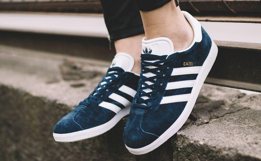 Adidas gazelle azules para hombres