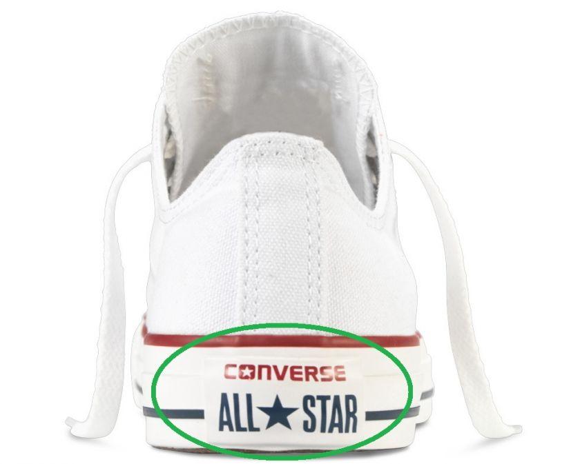 unir Interpretación Electrizar  Cómo saber si tus Converse All Star son originales o falsas