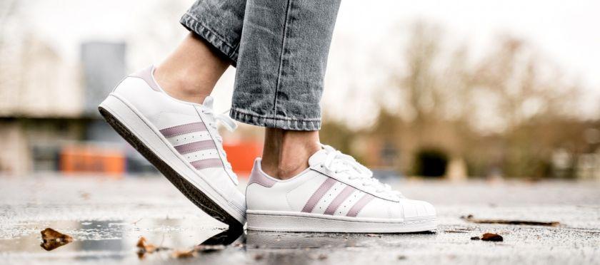 Adidas Superstar blancas para mujer