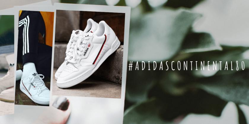 Vuelven las Adidas Continental 80, zapatillas de estilo