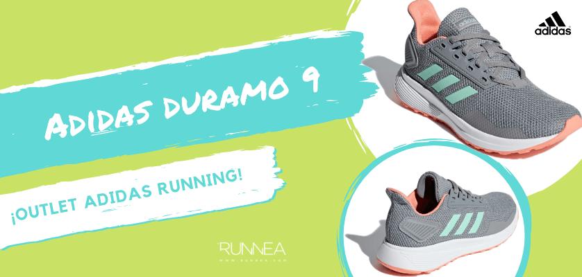 buy popular 3647e 5156d Outlet en zapatillas de running Adidas para hombre - Adidas Duramo 9