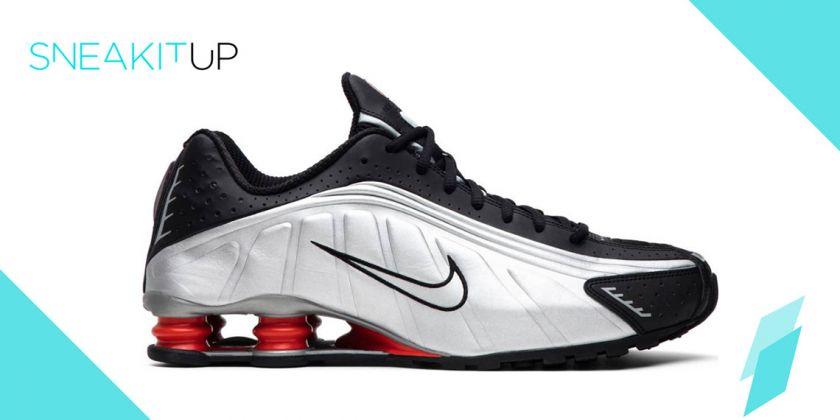 Regresan las zapatillas con muelles de Nike: Nike Shox R4