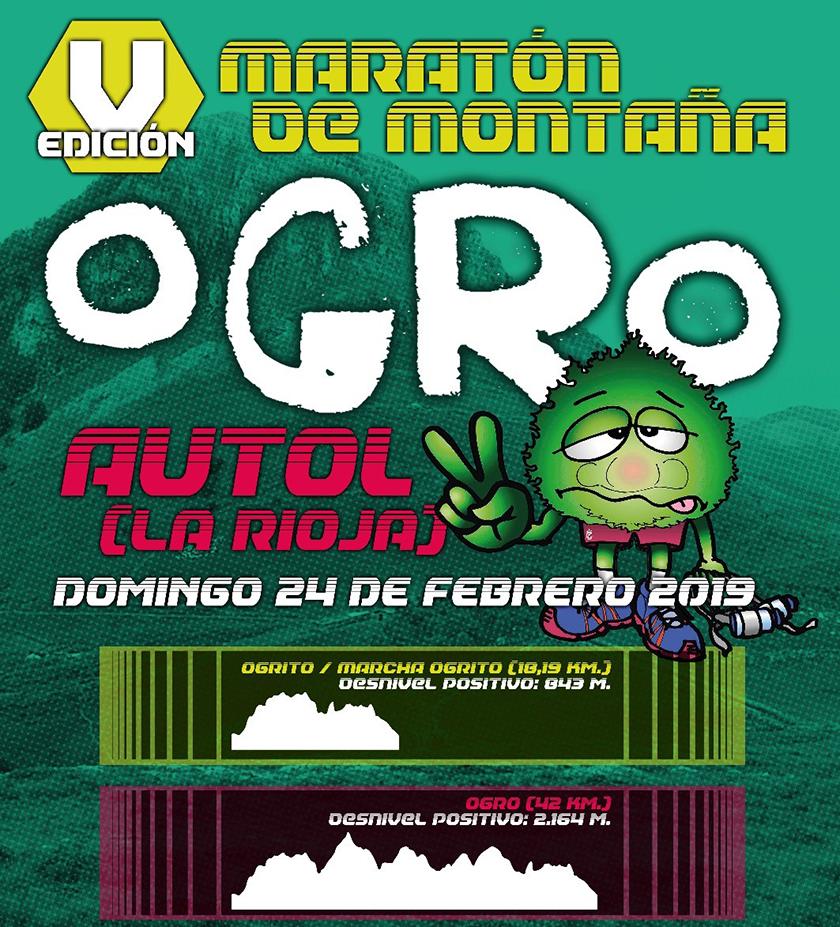 Territorio trial: Datos técnicos de la #Ogromaratón 2019, maratón de montaña - foto 1