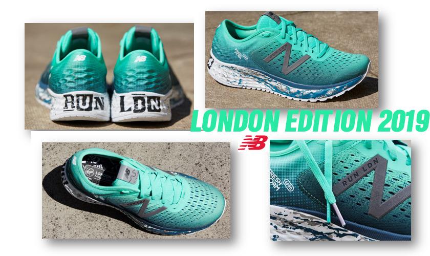 Edición Especial de New Balance para correr el Maratón Londres 2019 - foto 1