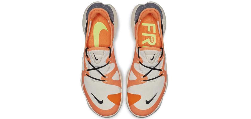 Nike Free RN 5.0, upper