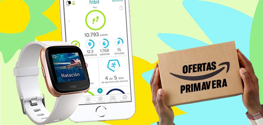 Ofertas de Primavera en Amazon - Fitbit Versa