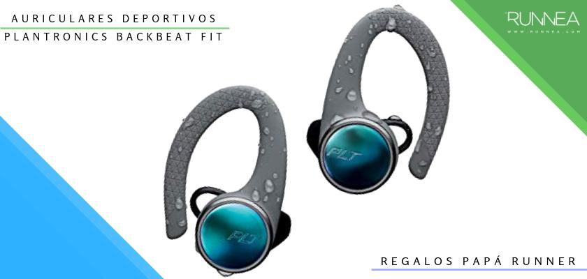Ideas para regalar a un papá runner, auriculares inalámbricos: Plantronics BackBeat Fit 3100