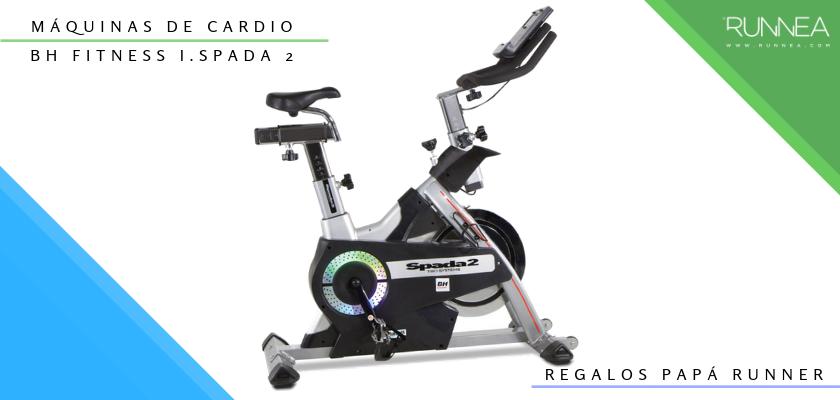 Ideas para regalar a un papá runner, máquinas de cardio: BH Fitness i.Spada 2 Kinomap (bici de spinning)