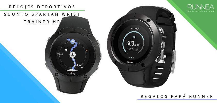 Ideas para regalar a un papá runner, relojes deportivos GPS: Suunto Spartan Wrist Trainer HR