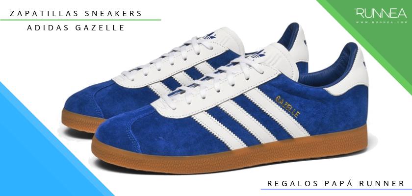 Ideas para regalar a un papá runner, zapatillas sneakers: Adidas Gazelle