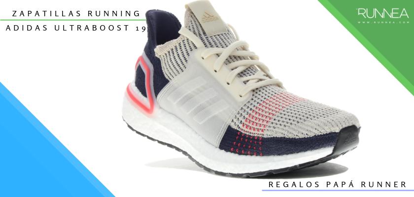 Ideas para regalar a un papá runner, zapatillas de running: Adidas Ultraboost 19