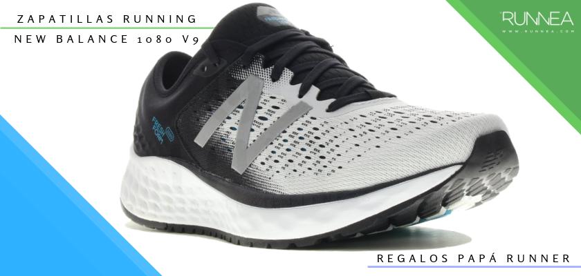 Ideas para regalar a un papá runner, zapatillas de running: New Balance Fresh Foam 1080v9
