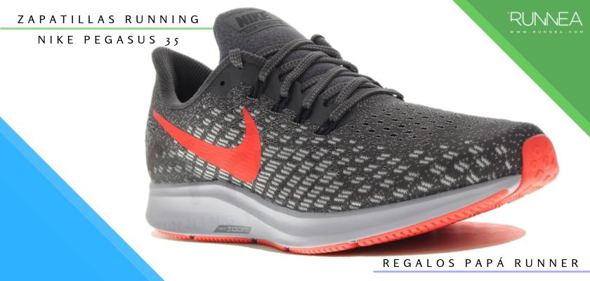 Ideas para regalar a un papá runner, zapatillas de running: Nike Pegasus 35