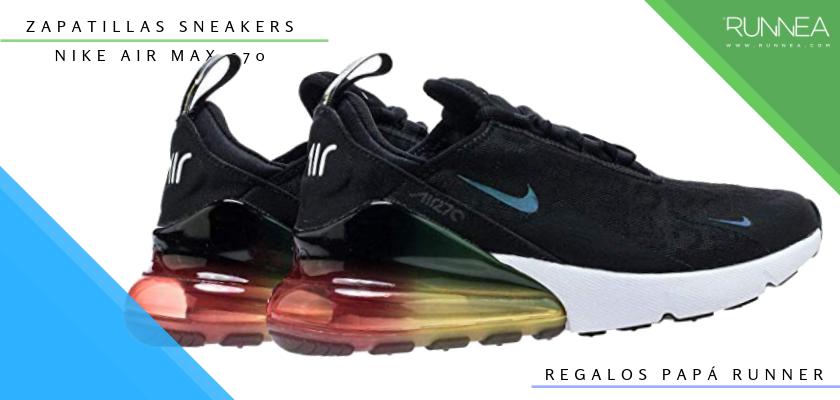 Ideas para regalar a un papá runner, zapatillas sneakers: Nike Air Max 270