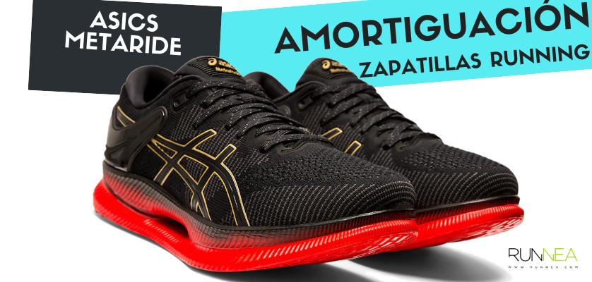 Mejor zapatilla de amortiguación por marca y su precio más barato - ASICS Metaride