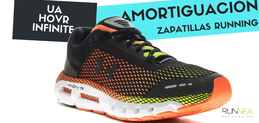 Mejor zapatilla de amortiguación por marca y su precio más barato - Under Armour HOVR Infinite