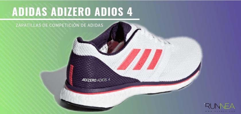 Las zapatillas de competición de Adidas más destacadas - Adidas Adizero Adios 4