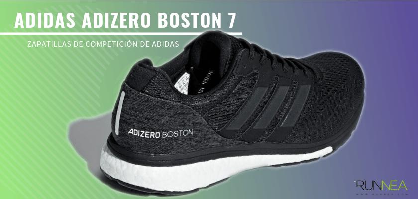 Las zapatillas de competición de Adidas más destacadas - Adidas Adizero Boston 7