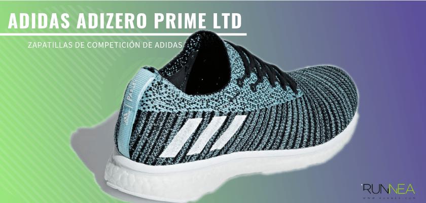 Las zapatillas de competición de Adidas más destacadas - Adidas Adizero Prime LTD