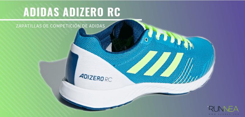 Las zapatillas de competición de Adidas más destacadas - Adidas Adizero RC