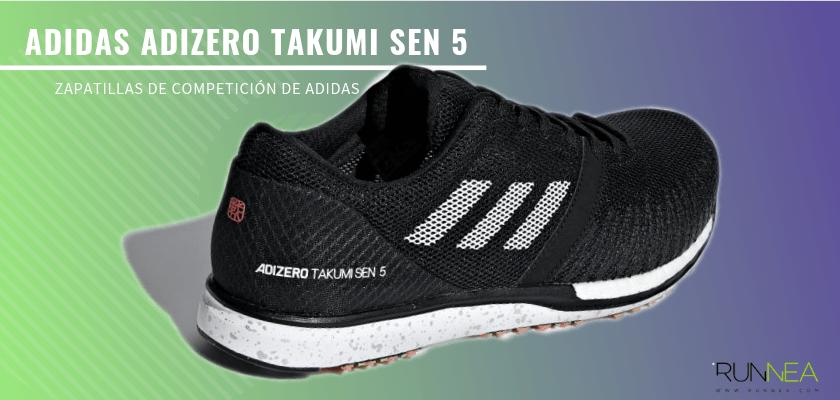 Las zapatillas de competición de Adidas más destacadas - Adidas Adizero Takumi SEN 5