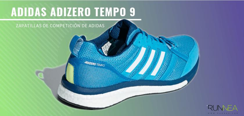 Las zapatillas de competición de Adidas más destacadas - Adidas Adizero Tempo 9