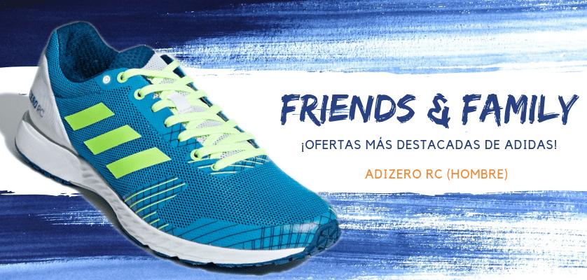 Zapatillas de running adidas en oferta con la promoción Friends & Family - Adizero RC para hombre