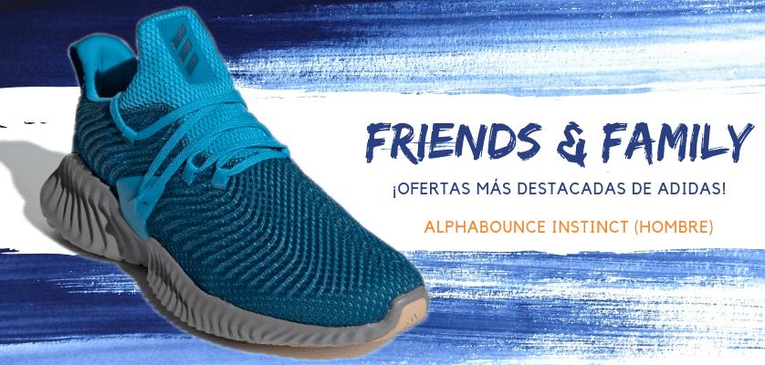 Zapatillas de running adidas en oferta con la promoción Friends & Family - Alphabounce Instinct para hombre