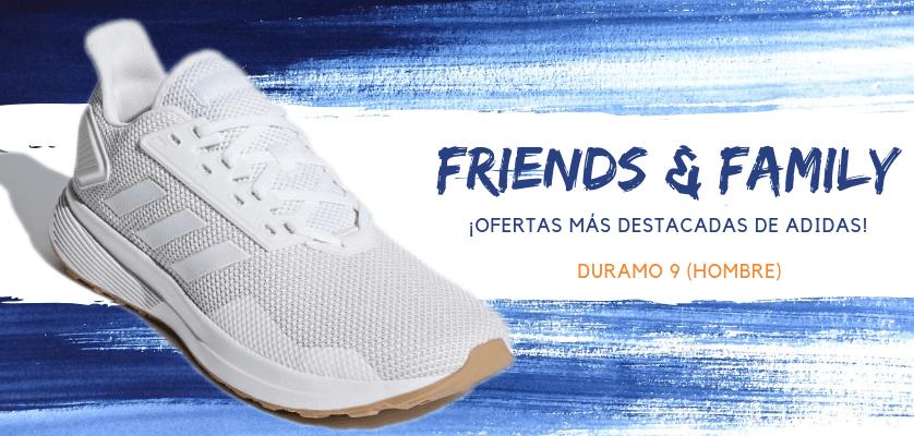 Zapatillas de running adidas en oferta con la promoción Friends & Family - Duramo 9 para hombre