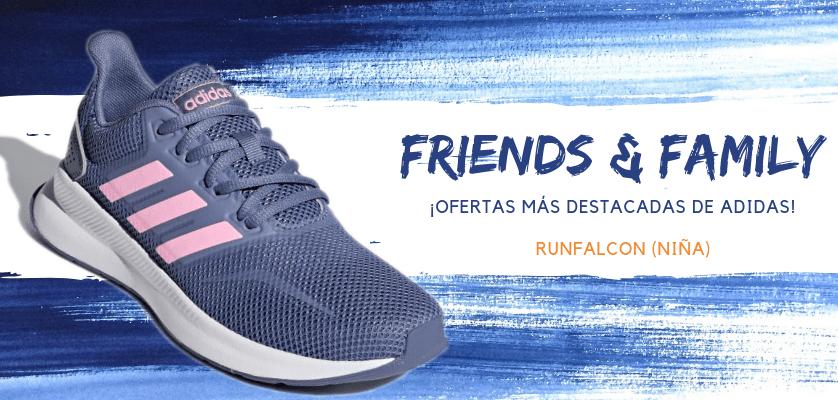 Zapatillas de running adidas en oferta con la promoción Friends & Family - RunFalcon para niña