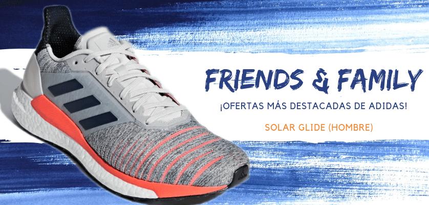 Zapatillas de running adidas en oferta con la promoción Friends & Family - Solar Glide para hombre