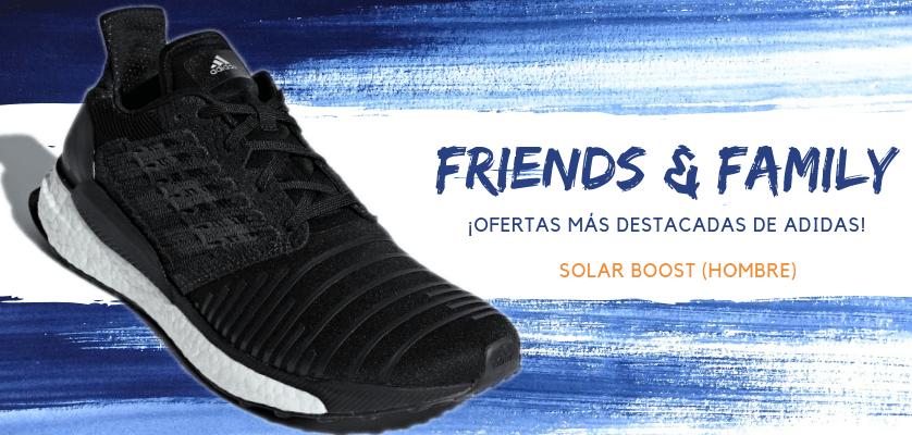 Zapatillas de running adidas en oferta con la promoción Friends & Family - Solar Boost para hombre