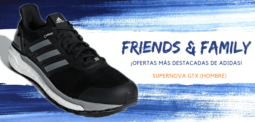 Zapatillas de running adidas en oferta con la promoción Friends & Family - Supernova Gore-Tex para hombre