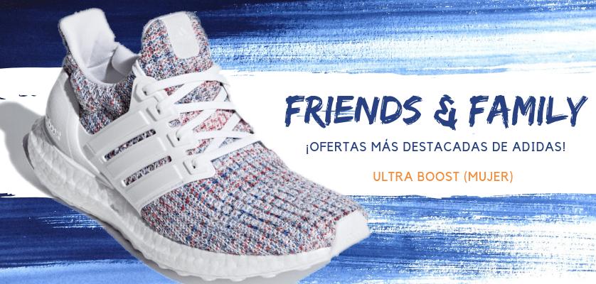 Zapatillas de running adidas en oferta con la promoción Friends & Family - Ultraboost para mujer