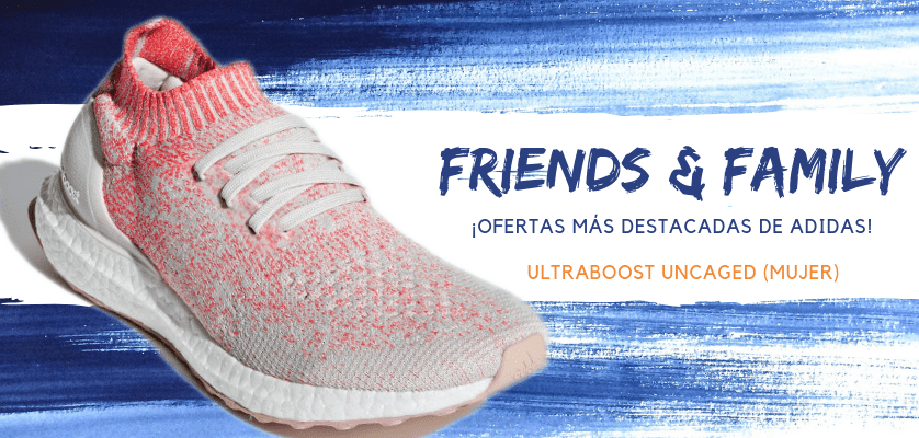 Zapatillas de running adidas en oferta con la promoción Friends & Family - Ultraboost Uncaged para mujer