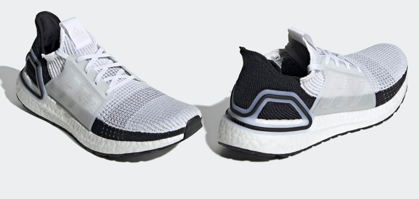 Colores disponibles de las Adidas Ultra Boost 19 - FTWR WHITE/FTWR WHITE/GREY TWO (Hombre)