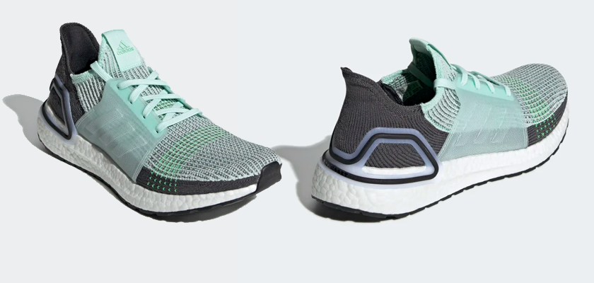 Colores disponibles de las Adidas Ultra Boost 19 - ICE MINT/ICE MINT/GREY SIX (Hombre)