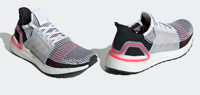 Colores disponibles de las Adidas Ultra Boost 19 - FTWR WHITE/CORE BLACK/GREY SIX (Mujer)