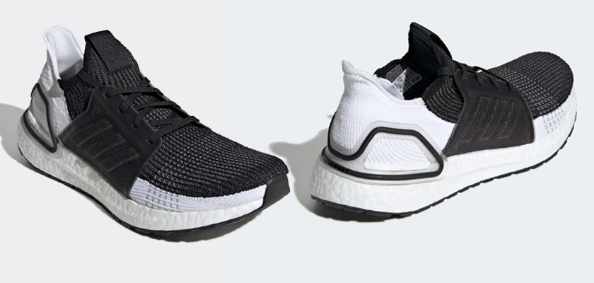Colores disponibles de las Adidas Ultra Boost 19 - CORE BLACK/GREY SIX/GREY FOUR (Mujer)