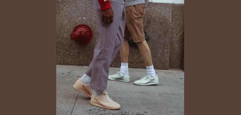 Adidas Continental 80, una sola zapatilla ¡5 looks distintos!