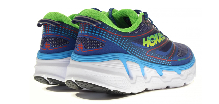 Hoka One One Conquest 3, talón